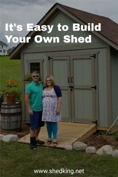 You can build a neat shed just like any of my customers have. See their pictures and read their testimonials then check out my detailed and easy to use shed plans them come complete with building guide, materials list, and email support. Shed Building Plans, Diy Shed Plans, Storage Shed Plans, Barn Plans, 3d Building Models, Workshop Shed, Shed Builders, Backyard Storage Sheds, Build Your Own Shed