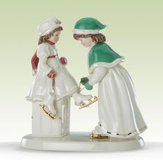 Lenox Figurines | Going Skating Figurine by Lenox