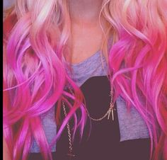 neon pink ends