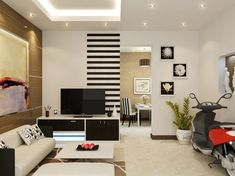 Wall Painting Designs for Living Room Color Scheme For Living Room – How To Pick The Right One Wall Painting Designs for Living Room. A living room is the first room in a home interior that t… Living Room Photos, Small Living Rooms, Living Room Sets, Living Room Bedroom, Living Room Interior, Living Room Designs, Living Room Decor, Interior Paint, Interior Decorating
