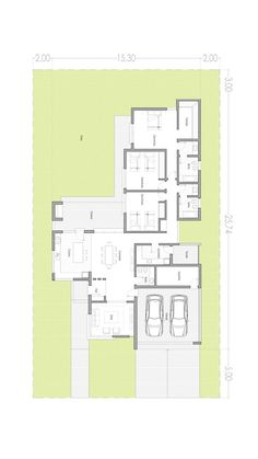 Dream House Plans, Small House Plans, House Floor Plans, Minimalist House Design, Modern House Design, Single Storey House Plans, Architectural House Plans, Bungalow Exterior, Villa Plan
