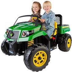 John Deere Gator XUV Battery-Powered Ride-On  $349  http://www.walmart.com/ip/John-Deere-Gator-XUV-Battery-Powered-Ride-On/19765501?CODE+PITCH