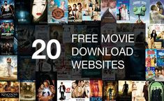 The Best 20 Free Movie Download Websites | Completely Legal In 2018 Good Movie Websites, Best Movie Sites, Free Movie Sites, Free Tv And Movies, Free Movie Website, Good Movies, Download Free Movies Online, Free Movie Downloads, Watch Free Movies Online