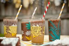 A Backyard Bonfire: Frozen Hot Chocolate