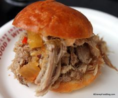 Disney Recipe: Kalua Pork Sliders from the Epcot Food and Wine Festival Hawaii Booth! #Disney #Recipe