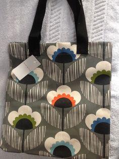 d2ebe70415 Reduced bnwt orla kiely tesco meadow flower bag large shopper. limited  edition