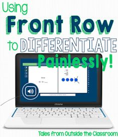 FrontRow- a free website & app that you can use to differentiate in math