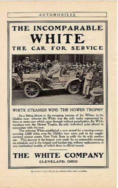 1907 White Steamer
