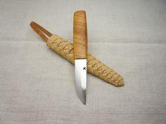 Eero Kovanen Birch bark sheath puukko