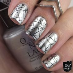 Metallic Shove // 31 Day Challenge // Polish Those Nails // Inspired by Monument…