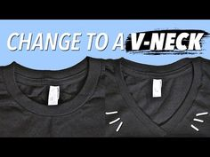 How to Cut a T Shirt Into a V Neck: 11 Steps (with Pictures)