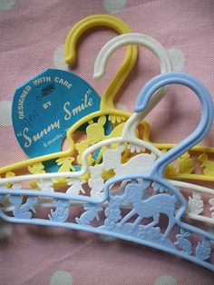 Bambi Hangers for little one's closet...