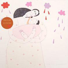 Pioggia di primavera  Dora Dicara Illustrazioni