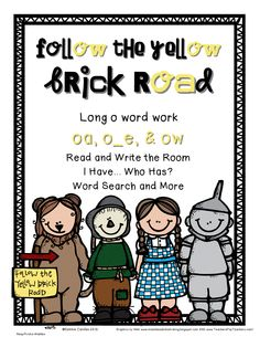 Yellow Brick Road oa, ow and o_e_