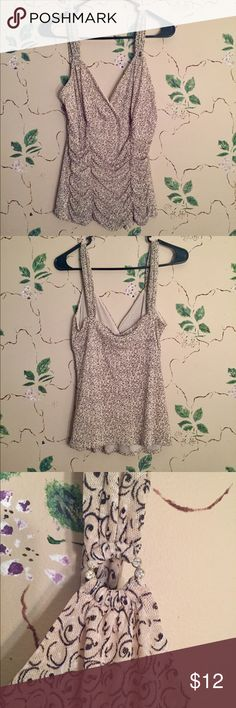 Express Tank Top Express Tank Top, size large. 100% nylon, worn minimal times, in good condition! Express Tops Tank Tops