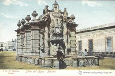 MEXICO. SALTO DEL AGUA. POSTAL COLOR, SIN CIRCULAR, C. 1910 (Postales - Postales Extranjero - América - México)