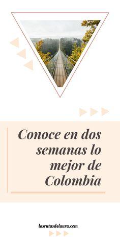 Conoce en dos semanas lo mejor de Colombia.   #colombia #rutadeviaje #guiasdeviaje #tipsdeviaje #viajarbarato #mujeresviajeras #viajes Hobbies, Poster, Travel, Projects, Cabo De La Vela, Camping Equipment, Log Projects, Viajes