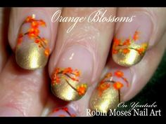 GET READY FOR FALL! Tons of full length tutorials to help with learning hand painted nail art with tips and tricks to make it fun and keep you laughing! Source by robinmoses Green Nail Art, Green Nails, Painted Nail Art, Hand Painted, Youtube Nail Art, Thanksgiving Nail Art, Fall Nail Art Designs, Gel Nail Colors, Holiday Nail Art