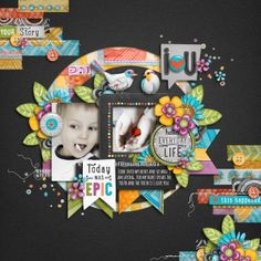 template- Second Shot | Vol.14 kit- Everyday Snippets Issue #3 Bundle by Createwings Designs