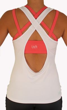 Livfit Scoop top: love. Bra is cool too, probably leaves awesome tan lines