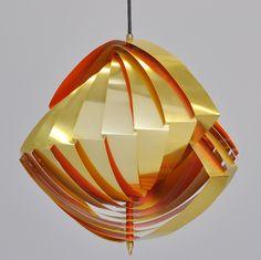 Louis Weisdorf, pendant lamp for Lyfa, 1965.