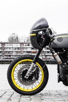 bmw k75 cafe racer moto e scooter usato - in vendita napoli | cool