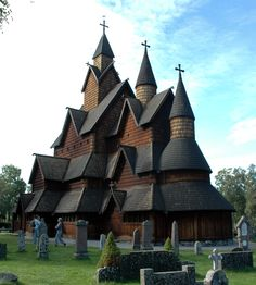 Heddal Stave Church in Norway, constructed in the early 13th Century