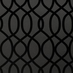 Knightsbridge Flock Wallpaper in Noir design by Kelly Hoppen for... ($155) ❤ liked on Polyvore featuring home, home decor, wallpaper, backgrounds, wallpaper samples, flock wallpaper, metallic wallpaper, black home decor, black metallic wallpaper and black wallpaper