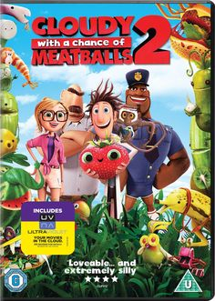 Cloudy with a Chance of Meatballs 2: Revenge of the Leftovers DVD 2013: Amazon.co.uk: Anna Faris, Neil Patrick Harris, Andy Samberg, Cody Cameron: DVD & Blu-ray