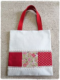 Clearance sale Simple patchwork book bag red color zakka style Clearance Sale, Red Color, Reusable Tote Bags, Trending Outfits, Book, Simple, Unique Jewelry, Handmade Gifts, Inspiration