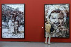 Brazilian artist Vik Muniz opens exhibition at the Église des Trinitaires in Arles