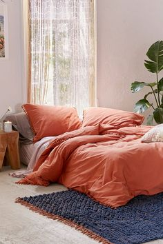 Shop Washed Cotton Tassel Duvet Cover at Urban Outfitters today. We carry all the latest styles, colors and brands for you to choose from right here.