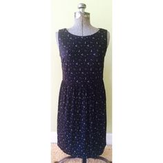 NWT LOFT Polka Dot Dress Size Small Classic Love this dress from LOFT! NWT size small. Black and white polka dot. LOFT Dresses