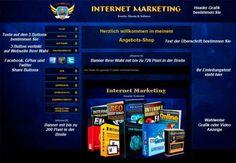 AUF DAS BILD KLICKEN! Earn More Money, Make Money Online, How To Make Money, Viral Marketing, Online Marketing, Network Tools, Software, Shops, Work From Home Opportunities