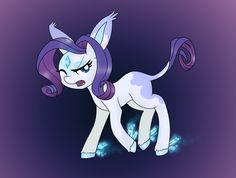 Rarity as a pokemon by mississippikite.deviantart.com on @DeviantArt