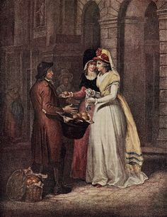 """""""Sweet China Oranges"""" Francis Wheatley (1747-1801) Cries of London series"""