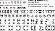 Conoces todos nuestros perfiles de aluminio MiniTec? Pues aquí te dejamos las secciones transversales de buena parte de ellos.