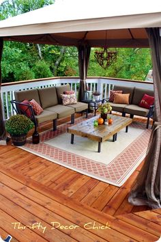 I want new patio furniture.  This just looks so relaxing