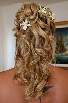 alkalmi frizurák hosszú hajból göndör - Google keresés
