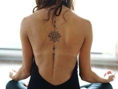 Tattoo Ideas for Women, Back Tattoo, Lotus, Deep Backcut, Summer Tattoo . Trendy Tattoos, Cute Tattoos, Girl Tattoos, Foot Tattoos, Small Tattoos, Sleeve Tattoos, 1 Tattoo, Tattoo Fonts, Tattoo Motive