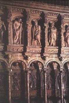 Sillería de coro de la catedral de Toledo - Alonso Berruguete