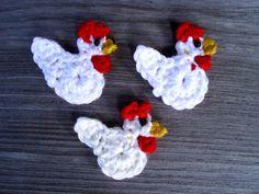 Drei verrückte Hühner