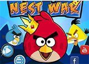 Nest War Angry Birds | Juegos Angry Birds - jugar online