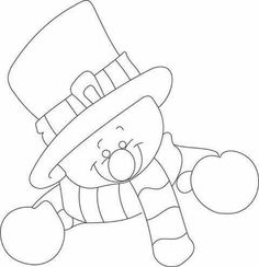 Boneco neve Pinterest Christmas Crafts, Christmas Card Crafts, Christmas Templates, Christmas Drawing, Christmas Paintings, Christmas Printables, Christmas Decorations To Make, Christmas Colors, Christmas Projects