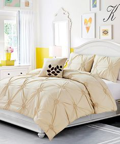 Groupon Chic Home Nadette Reversible Bed in a Bag Comforter Set