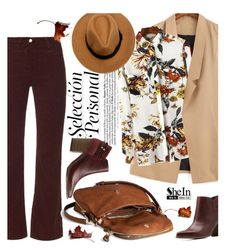 """""""Leaves"""" by ansev ❤ liked on Polyvore featuring AG Adriano Goldschmied, Moda Luxe, Charlotte Russe and shein"""