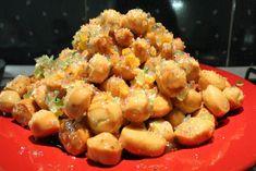 Gnocchi, Potato Salad, Cauliflower, Shrimp, Potatoes, Meat, Vegetables, Ethnic Recipes, Advent