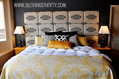 Diy home decor crafts give your bedroom an entirely differently look with this fabric headboard projects . diy home decor crafts wood projects Diy Home Decor Bedroom For Teens, Room Decor For Teen Girls, Diy Home Decor Rustic, Diy Room Decor, Diy Bedroom, Decor Crafts, Diy Crafts, Bedroom Photos, Bedroom Ideas