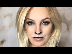 lion halloween make up look - YouTube