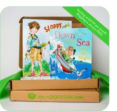 The Story Box.  Monthly subscription of children's books.  Great for kids and great gift.